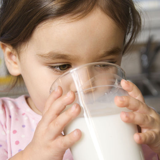 Rules of drinking milk